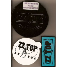 Pincushion - Metal Box Limited Edition Includes Sex On Patch & Sticker - Zz Top