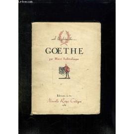 A La Gloire De Goethe. de Henri Lichtenberger