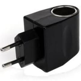 adaptateur de chargeur allume cigare en chargeur secteur 220v 12v pour htc smart 2. Black Bedroom Furniture Sets. Home Design Ideas