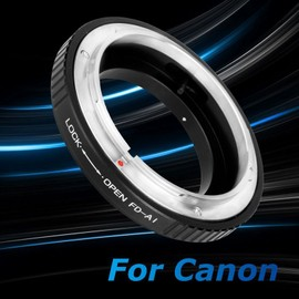 XCSOURCE Adapter Ring for Canon FD Lens to Nikon F Mount Adapter D5100 D5000 D3100 D3000 D700 DC182