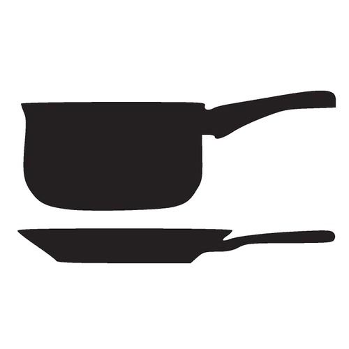 adhesif sticker cuisine poele et casserole achat et vente. Black Bedroom Furniture Sets. Home Design Ideas