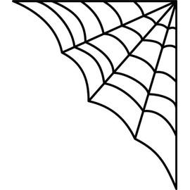 Adhesif sticker halloween toile d 39 araign e achat et vente for Toile d araignee decoration