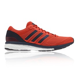 Adidas Adizero Boston 6 Homme Bleu Orange Bleu Homme Amorti Running Chaussure 51743d