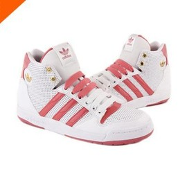 Adidas Rose Et Blanche