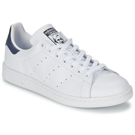 Baskets Adidas Stan Smith M20325 - Blanc / Bleu Marine - 44 | Rakuten