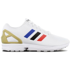 Adidas Originals Zx Flux Hommes Baskets Sneakers Chaussures Blanc Fv7918