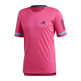 Adidas Performance Hommes rose Tennis Chemise Stripes Club 3 zSq1wzg