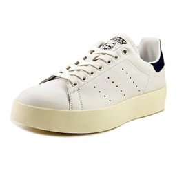 adidas stan smith bold blanc femmes baskets d contract es. Black Bedroom Furniture Sets. Home Design Ideas