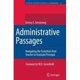 Administrative Passages de Denise Armstrong