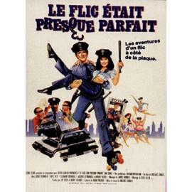 Affiche Cinema Le Flic �tait Presque Parfait 120x160 - 573