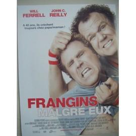 Affiche De Cin�ma Du Film Frangins Malgr�s Eux 54 X 40 Pli�e