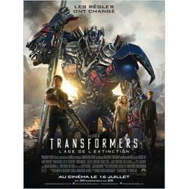 Affiche De Cinema Du Film Transformers 4 L Age De L Extinction Transformers Age Of Extinction 60 X 40 Pliee Rakuten
