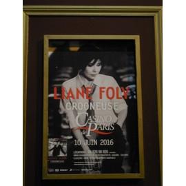 Affiche De Liane Foly 55x40cm.