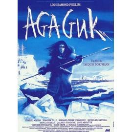 agaguk affiche originale de cin ma format 120x160 cm un film de jacques dorfmann avec lou. Black Bedroom Furniture Sets. Home Design Ideas