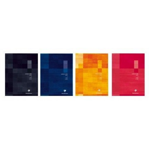 agenda cahier de bord clairefontaine bleu ciel bord piqu a4 72 pages. Black Bedroom Furniture Sets. Home Design Ideas