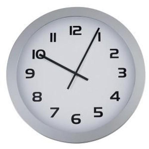alba horgiant horloge murale ronde g ante diam tre 60 cm gris m tal. Black Bedroom Furniture Sets. Home Design Ideas