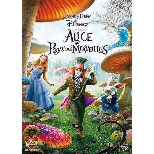 Alice Aux Pays Des Merveilles Images alice au pays des merveilles de tim burton en dvd neuf et d'occasion