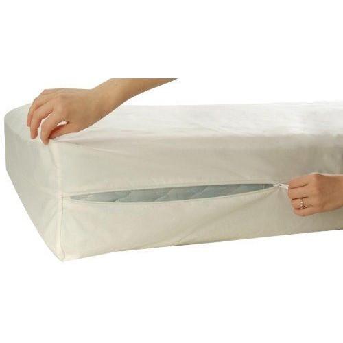 Allersoft Housse De Protection 100 Coton Pour Matelas 120 X 200 X