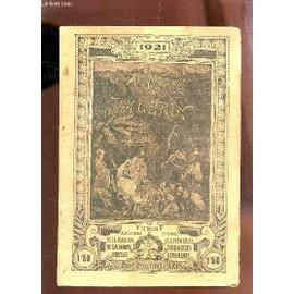 Almanach Du Pelerin - Annee 1921. de COLLECTIF