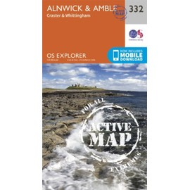 Alnwick And Amble, Craster And Whittingham 1 : 25 000 de Ordnance Survey