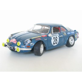 alpine renault a110 rallye marrachech 1 18 burago neuf et d 39 occasion. Black Bedroom Furniture Sets. Home Design Ideas