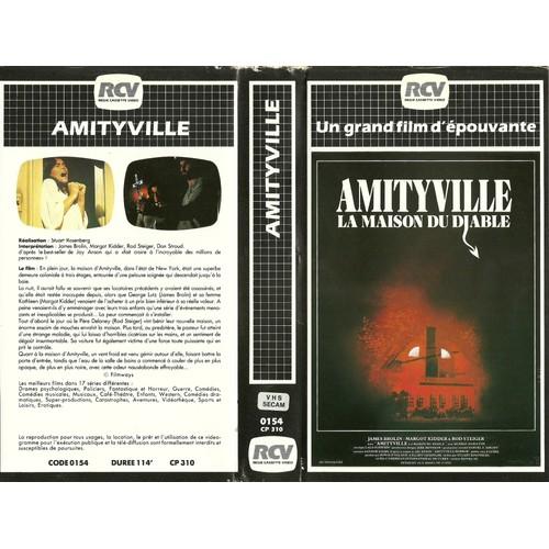 Amityville la maison du diable 1979 vhs - Code promo vente du diable frais de port offert ...