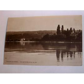 Amphion Les Bains Vue Generale Prise Du Lac