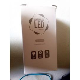 ampoule led thomas watt lumi re chaude e27 9watt 3000 kelvin. Black Bedroom Furniture Sets. Home Design Ideas