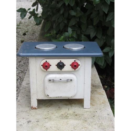ancien jouet m tal t le cuisini re enfant 1950 neuf et d 39 occasion. Black Bedroom Furniture Sets. Home Design Ideas