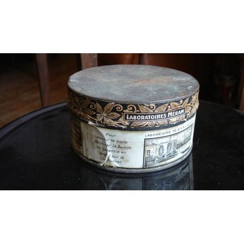 Ancienne boite metal tole pansements st rilis s - Boite metal ancienne ...