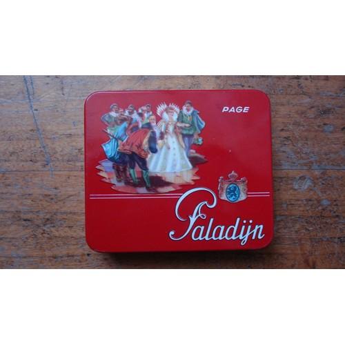 Ancienne boite tole metal cigares paladijn neuf et d 39 occasion - Boite metal ancienne ...