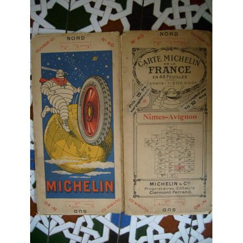 ancienne carte michelin 1923 achat vente neuf occasion rakuten. Black Bedroom Furniture Sets. Home Design Ideas