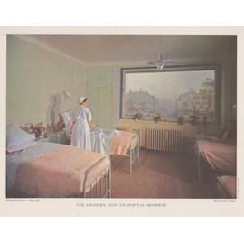 Ancienne Chambre D\'hôpital - Achat vente de Affiches - Rakuten