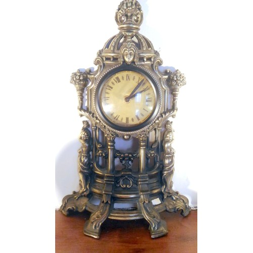 ancienne horloge en bronze dor na ade achat et vente rakuten. Black Bedroom Furniture Sets. Home Design Ideas