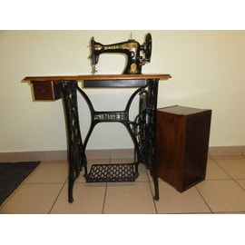 ancienne machine coudre singer p dale pas cher priceminister rakuten. Black Bedroom Furniture Sets. Home Design Ideas