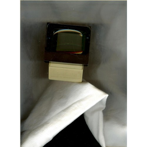 ancienne visionneuse diapositives diarama couleur ivoire cadre de l 39 optique noir 9x8cm. Black Bedroom Furniture Sets. Home Design Ideas
