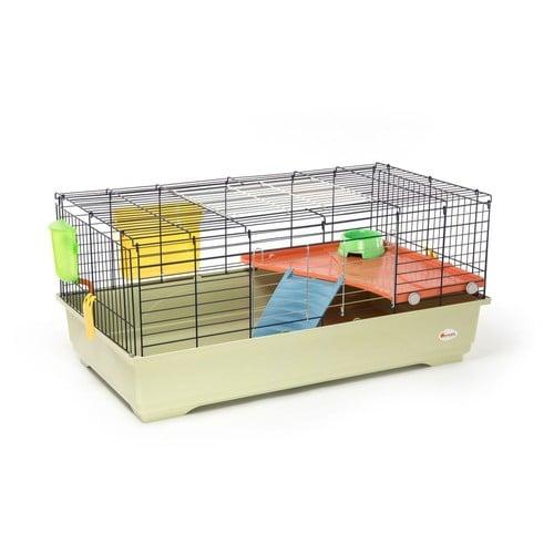 animalis cage lapin quip e 100cm achat et vente. Black Bedroom Furniture Sets. Home Design Ideas