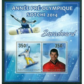 Ann�e Pr�-Olympique - Sotchi 2014 - Snowboard - Jasey Jay Anderson - Bloc Neuf**