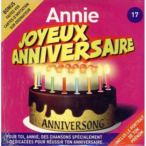 Joyeux Anniversaire Annie Anniversong Cd Album Rakuten