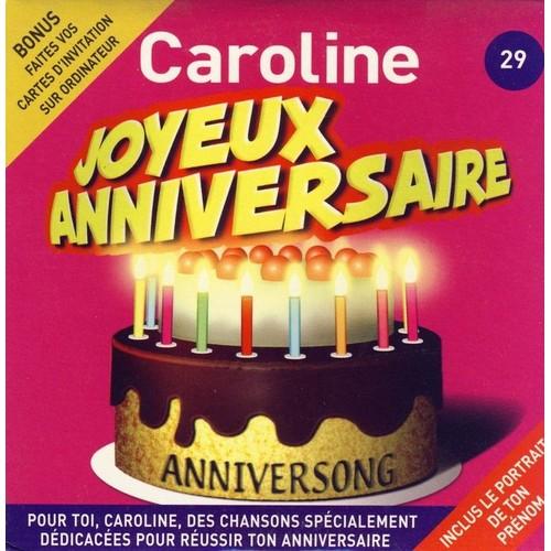 Joyeux Anniversaire Caroline Anniversong Cd Album Rakuten