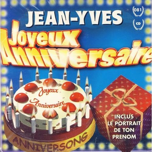 Joyeux Anniversaire Jean Yves