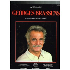 Anthologie Georges Brassens Vol1 Partitions Musique Avec Accords Et