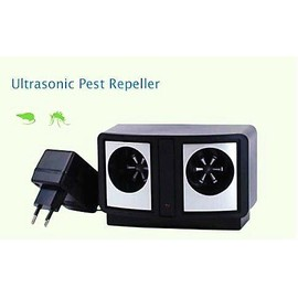 anti nuisibles double ultrasons pour rongeurs rats souris pas cher. Black Bedroom Furniture Sets. Home Design Ideas