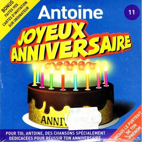 Antoine Joyeux Anniversaire Anniversong Cd Single Rakuten