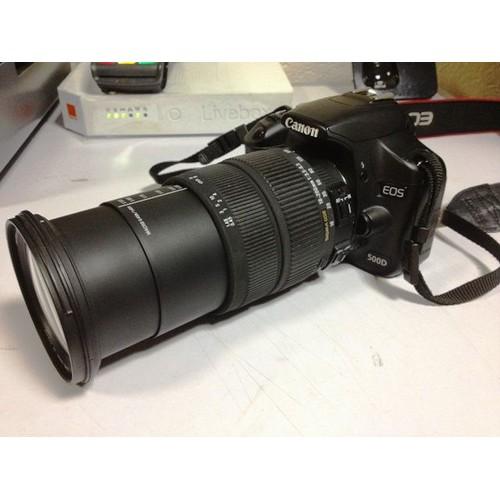 appareil photo canon eos 500d objectif sigma dc18 200mm 1 3 5 6 3. Black Bedroom Furniture Sets. Home Design Ideas