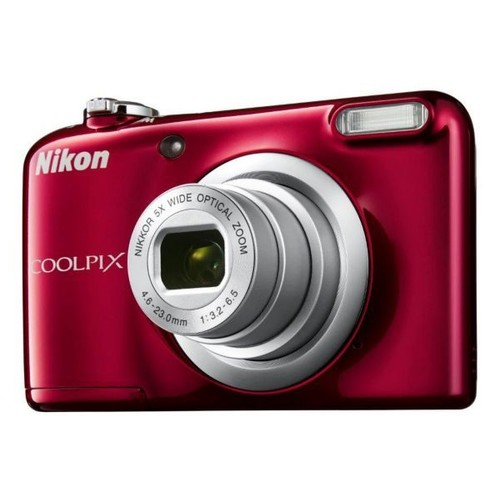 appareil photo compact nikon coolpix a10 rouge pas cher. Black Bedroom Furniture Sets. Home Design Ideas