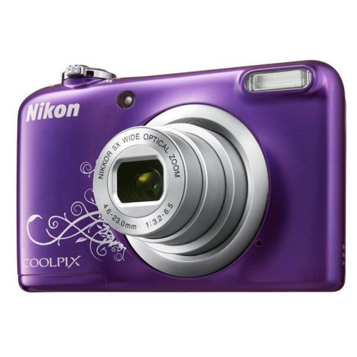 appareil photo compact nikon coolpix a10 violet pas cher. Black Bedroom Furniture Sets. Home Design Ideas