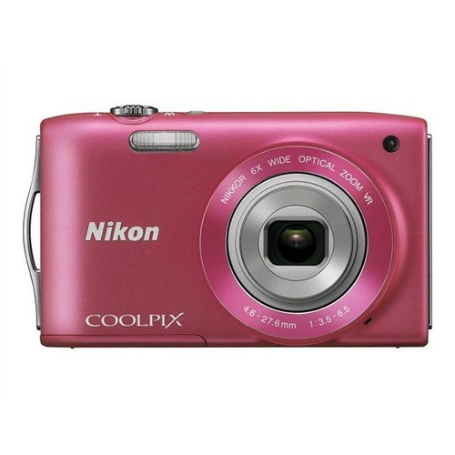 nikon coolpix s3300 compact 16 mpix rose pas cher. Black Bedroom Furniture Sets. Home Design Ideas