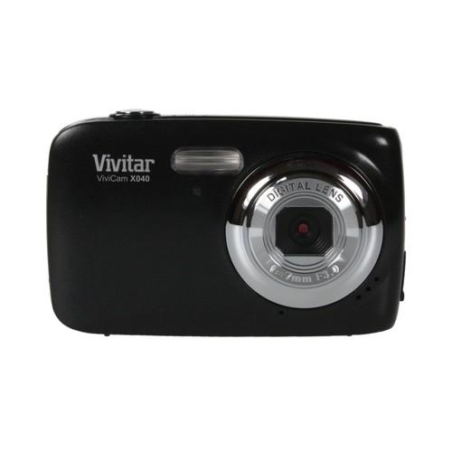 Appareil photo num rique noir 10mp avec cran 2 2 vivitar for Ecran noir appareil photo 3ds