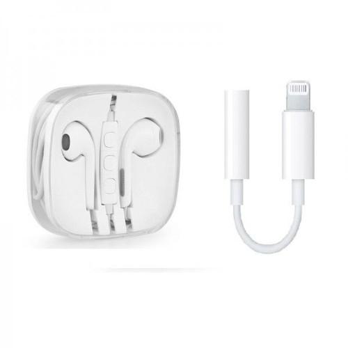 apple ecouteur earpod avec adaptateur lightning pour iphone 7 ou 7 plus haute qualit rps. Black Bedroom Furniture Sets. Home Design Ideas